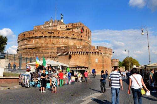 Castillo Sant'Angelo y Plaza de San Pedro – visita con guía privado