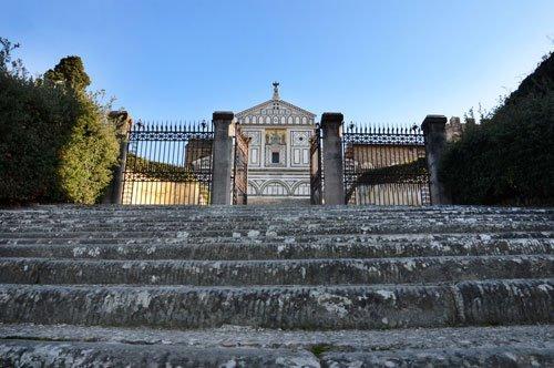 Passeio a pé até a Piazzale Michelangelo com um guia privado