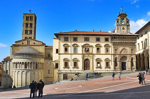 Passeio Privado em Arezzo com Degustação