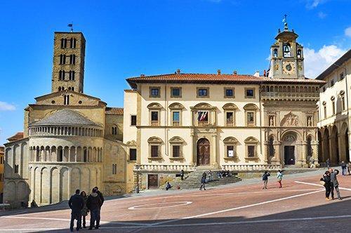 Private Führung von Arezzo mit Verkostung