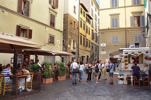 Los sabores de la Toscana por las calles de Florencia - tour con guía privado