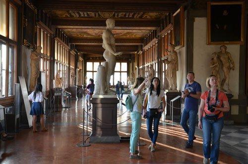 Tour da Galeria Uffizi com guia privado