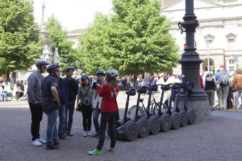 Tour de Milão de segway com guia privado