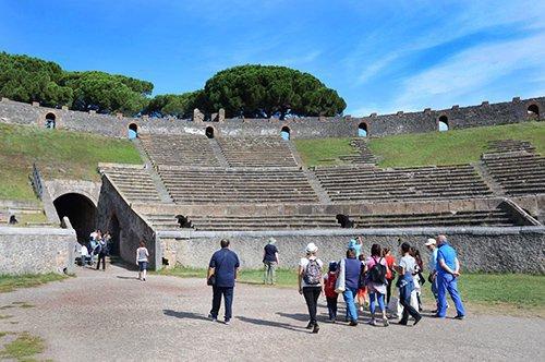 Tour de Pompeia com guia privado