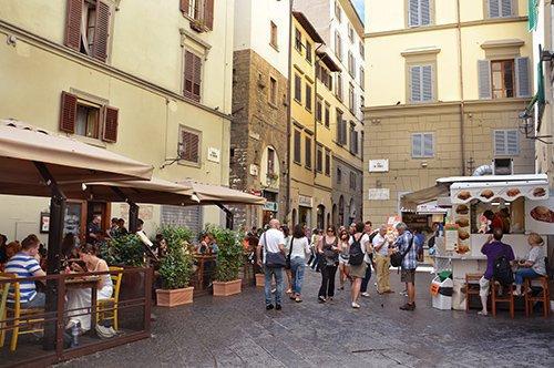 佛罗伦萨步行地道托斯卡纳街头美食品尝之旅 - 私人官导订制