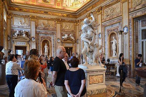 Visita de la Galería Borghese con guía privado