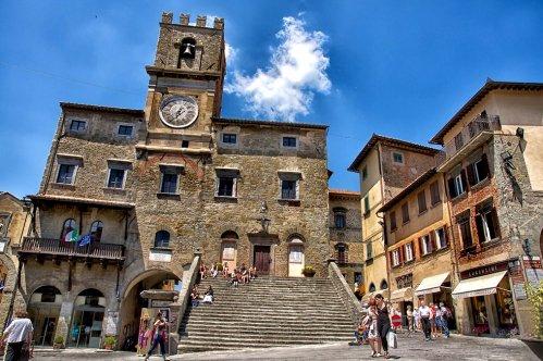 Visita privada a Cortona con degustación