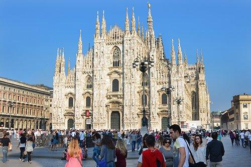 Tour de la Cathédrale de Milan et ses Terrasses avec guide privé