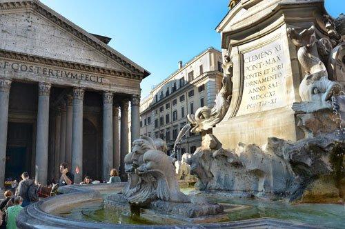Château Saint Ange et le Panthéon - visite avec guide privée