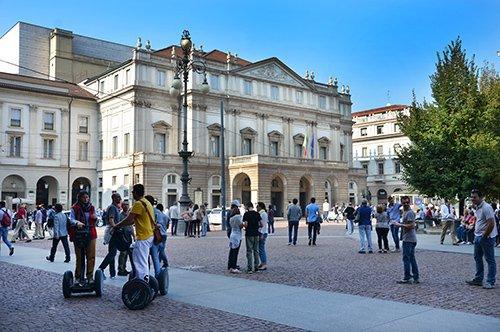 Milan à pied avec guide privé