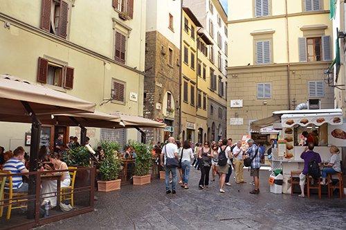 Les Saveurs de la Toscane parmi les rues de Florence - visite avec un guide privé