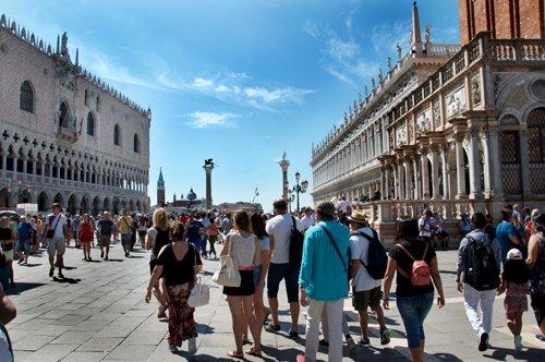 Venise à pied et visite aux Galeries de l'Académie avec guide privé