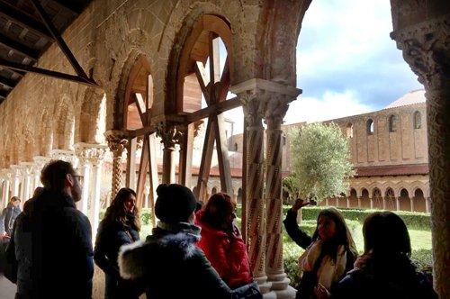 Anlage der Basilika von Monreale in Palermo – vorrangiger Eintritt