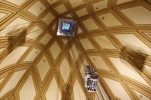 Entrada al ascensor panorámico de la Mole Antonelliana + Audioguía de Turín