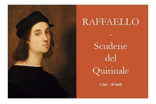 Raphaël – exposition aux Écuries du Quirinal