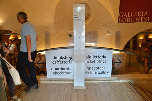 Borghese Gallery - Priority entrance