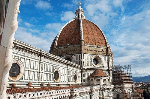 Eintrittskarte für die Domterasse + Audioguide für Florenz