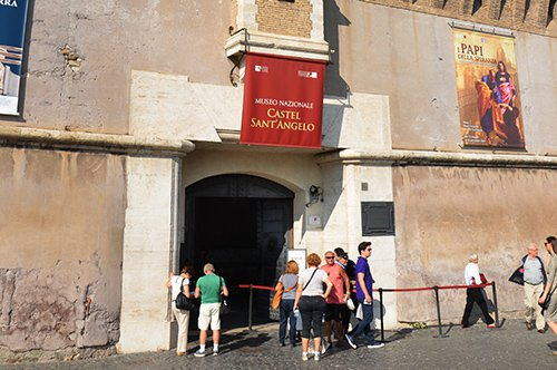 Castelo de Santo Ângelo – Entrada prioritária