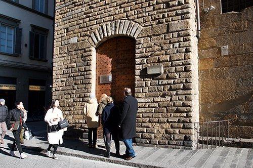 Entrada Museu Nacional de Bargello