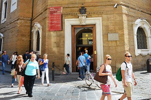 Capillas de los Medici - entrada reservada