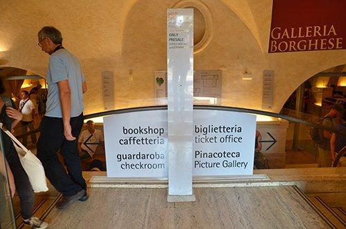 Galerie Borghese- Prioritätseinlass