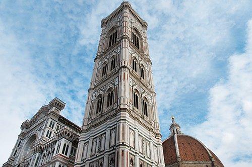 Eintrittskarte für den Glockenturm von Giotto + Audioguide für Florenz