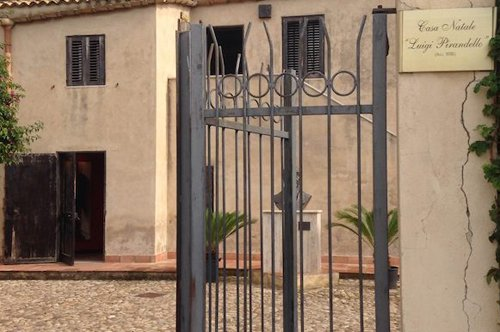 Haus von Luigi Pirandello in Agrigent – vorrangiger Eintritt