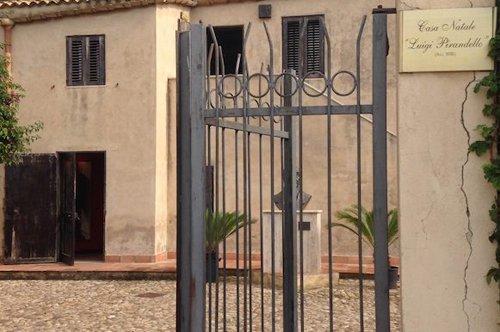 La Maison de Luigi Pirandello à Agrigente - entrée prioritaire