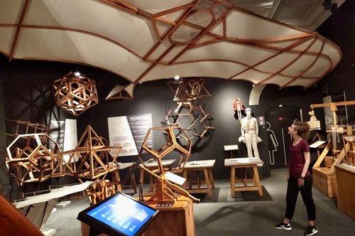 Musée interactif Léonard de Vinci - billets d'entrée