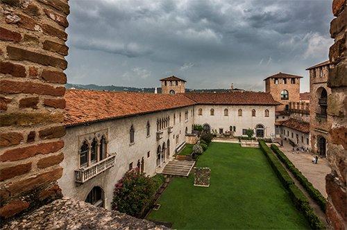 Entrada al Museo de Castelvecchio