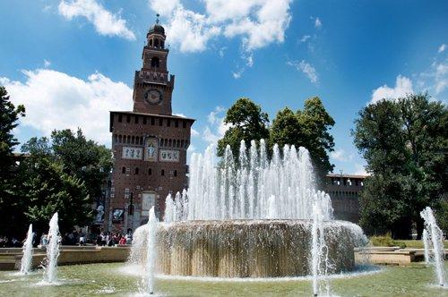 Entrada a los museos del Castillo Sforza