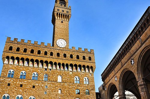 Palazzo Vecchio Museum entrance ticket + Florence Audioguide