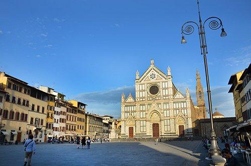 Eintrittskarte für Santa Croce + Audioguide für Florenz