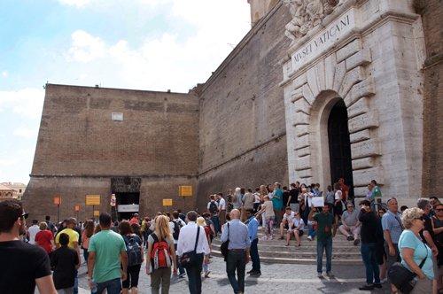 Die Vatikanischen Museen ohne Anstehen