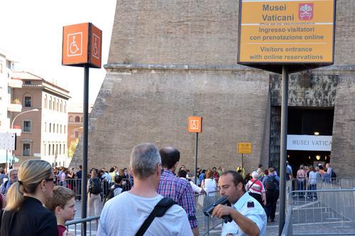 Die Vatikanischen Museen ohne Anstehen – Eintritt am Nachmittag