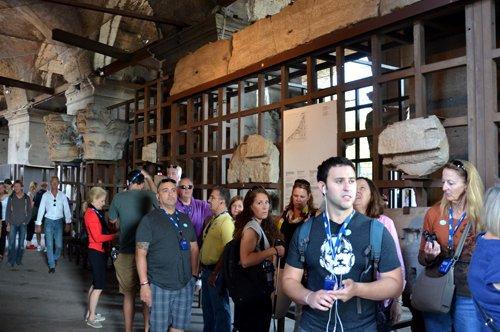 Visite du Colisée avec audio/video-guide + Plan de Rome